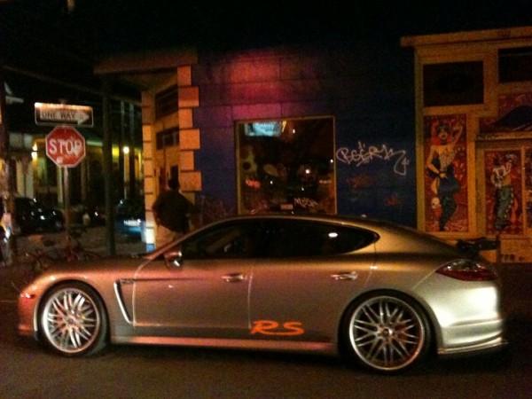 Mannie Fresh Porsche Panamera Before