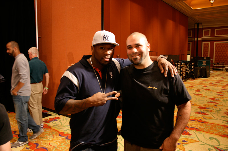 Matt Farah with 50 Cent