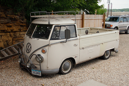 Mike Wolfe's Single Cab VW Bus