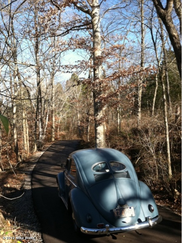 Mike Wolfe's VW Bug