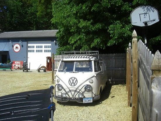 Mike Wolfe's Volkswagen Single Cab Transporter van