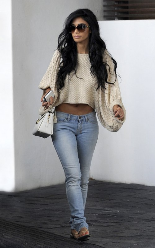 Nicole Scherzinger out and about