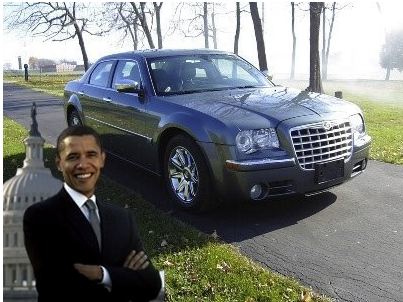 Obama's Chrysler 300C