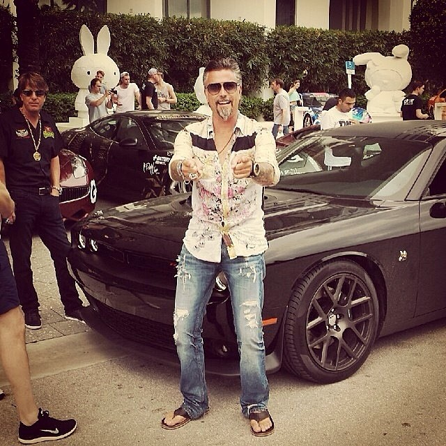 Richard rawlings and dennis collins on this year s gumball 3000