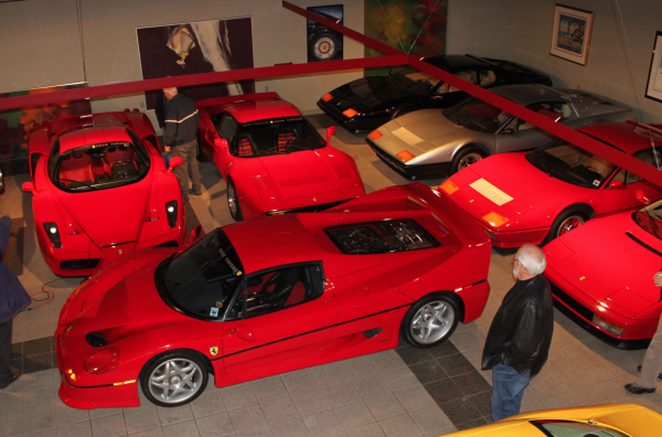 ron tonkin Ferrari collection