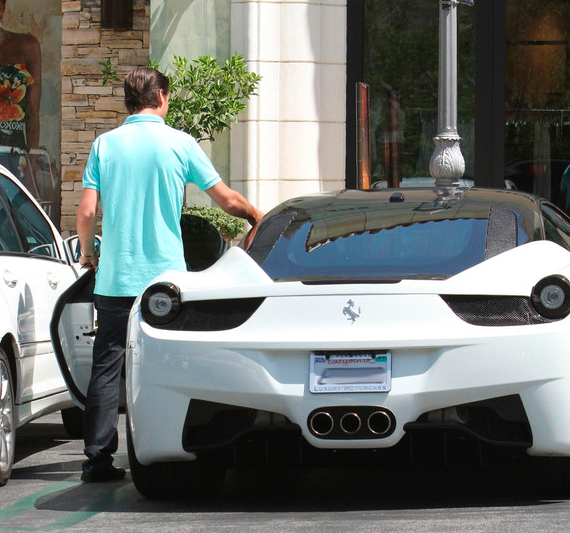Is This Actually Kim's Ferrari 458 For Sale