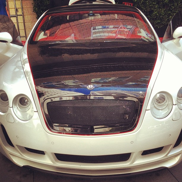 """Used Bentley Continental Gt For Sale: Sean Kingston Intagrams His New """"Toy"""""""