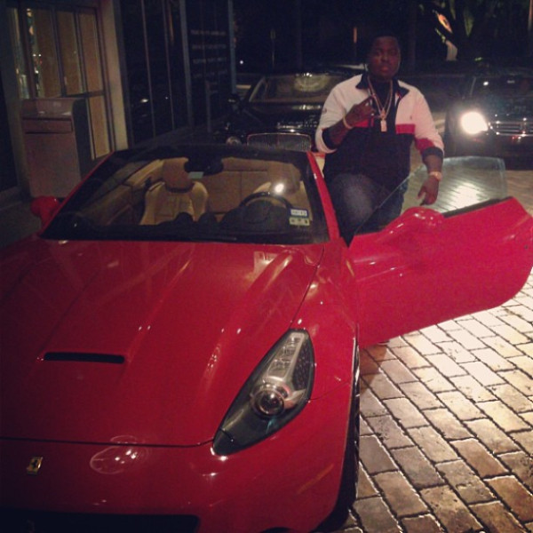 sean kingston ferrari california