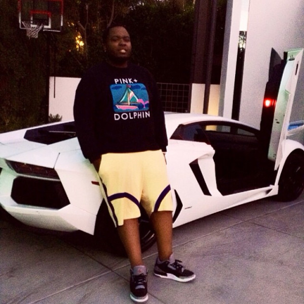 sean kingston white lambo
