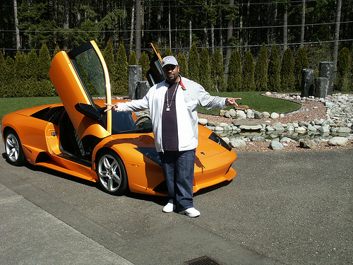 Sir-Mix-Alot's Lamborghini LP640