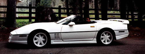 Sir-Mix-Alot's Coke White Corvette