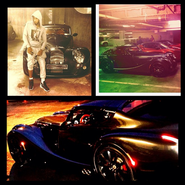 Swizz Beats Morgan Aero Coupe