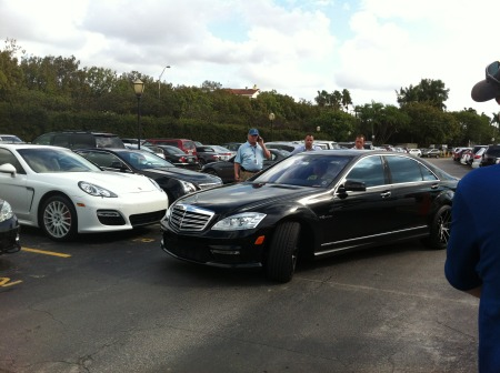 Tiger Woods Mercedes S65