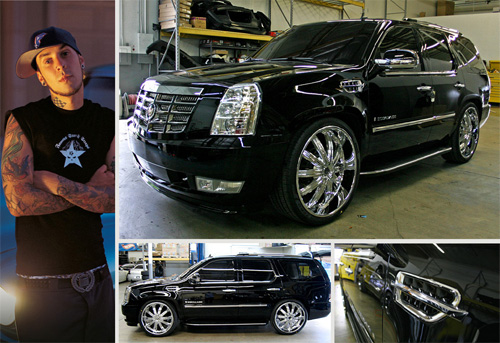Travis Barker Escalade