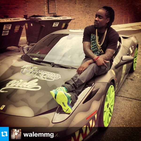 why do rappers insist on sitting on ferrari's | celebrity cars blog