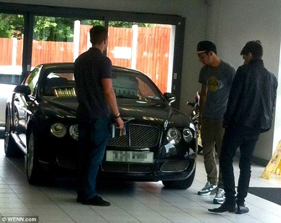 zayn malik bentley continental