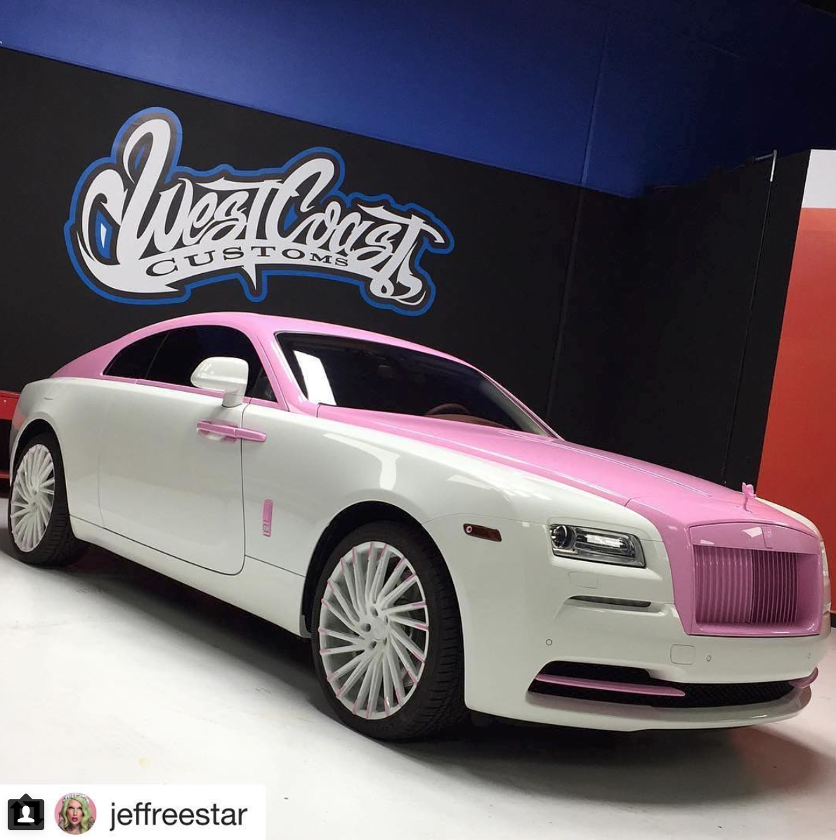 West Coast Customs Cars For Sale >> Jeffree Star Has Another New Rolls Royce | Celebrity Cars Blog