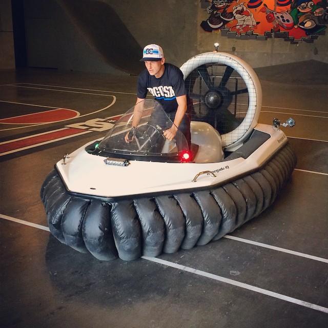 Rob Dyrdek S Hovercraft Vehicle Celebrity Cars Blog