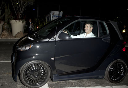 Simon Cowell Smart Car