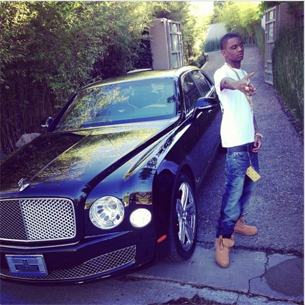 Soulja Boy Bentley Mulsanne