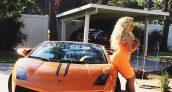 Trisha Paytas Lamborghini Gallardo