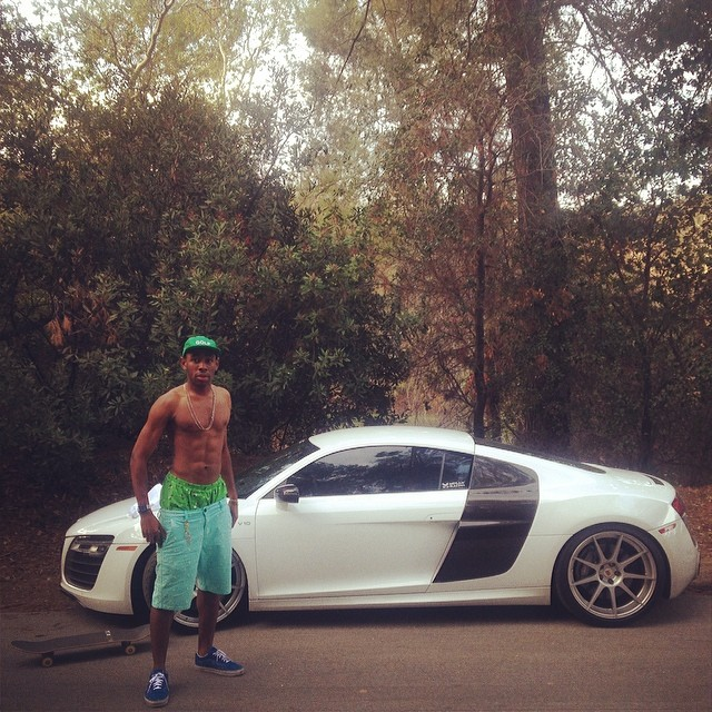 Tyler The Creator Picks Up An Audi R8 Celebrity Cars Blog