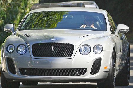 David Beckham's Bentley Continental Supersports