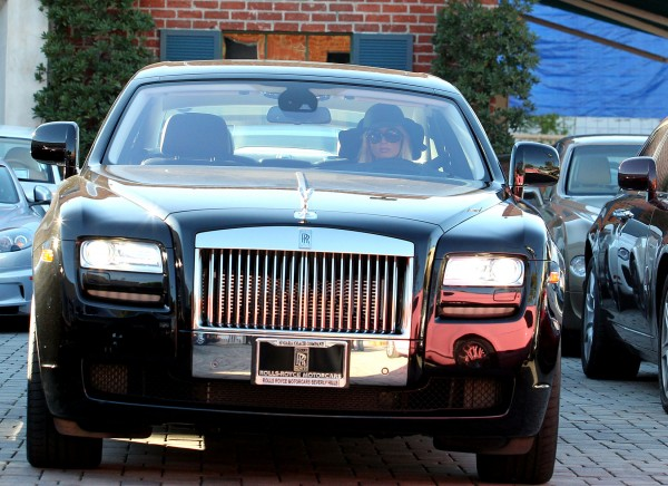 Paris Hilton Rolls Royce Ghost